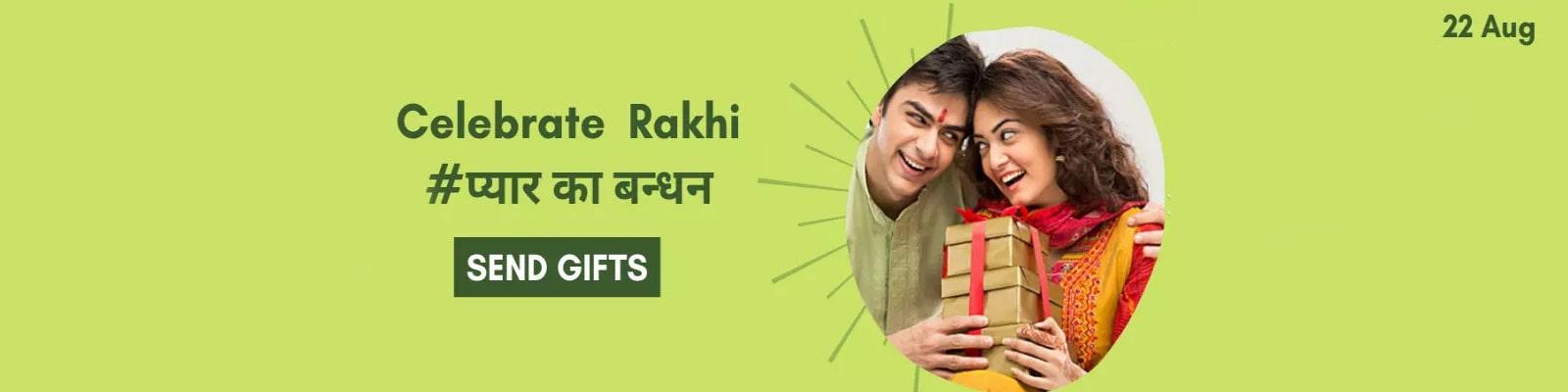 Send  Rakshabandhan Gifts