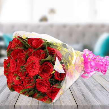 Absolutely Beautiful A bouquet of Red Roses