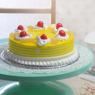Regular Round Pineapple Cake Shopnideas