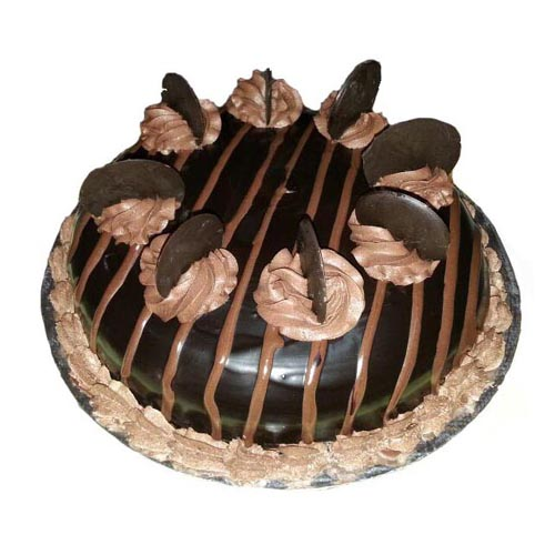 Super Chocolate Truffle Cake