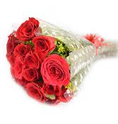 18 Red Velvet Roses Flowers Online delivery in Rajkot - Shopnideas