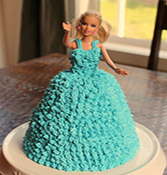 Special Barbie Doll Cake Online delivery in Rajkot - Shopnideas