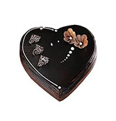 Chocolate Truffle Heart Shape Online delivery in Nagpur - Shopnideas