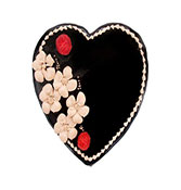 Beautiful Chocolate Truffle Heart Cake Online delivery in Nagpur - Shopnideas