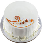 Vanilla Love Cake  Online delivery in Solapur - Shopnideas