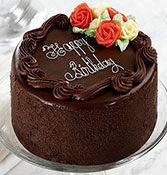 Chocolate Beautiful Flower Cake Online delivery in Nagpur - Shopnideas