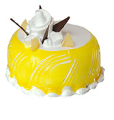 Pineapple Round Shape Cake Online delivery in Nagpur - Shopnideas