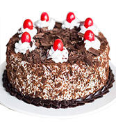 Black Forest Round Cake Online delivery in Nagpur - Shopnideas