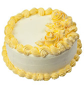 Butterscotch Round Cake  Online delivery in Nagpur - Shopnideas