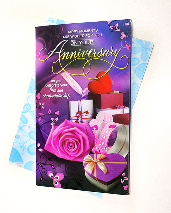 Anniversary Greeting Online delivery in Nagpur - Shopnideas