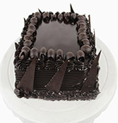 Chocolate Truffle Square Shape Cake Online delivery in Nagpur - Shopnideas