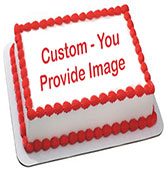 Your personalized Image photo cake