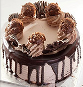 Ferrero Rocher Chocolate Cake Online delivery in Nagpur - Shopnideas