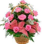 12 Flower Special Bouquet Pink Roses delivery in Rajkot