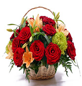 12 Flowers Mix Bouquet delivery in Surat