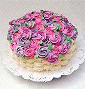 Flowers Basket Cake Online delivery in Rajkot - Shopnideas