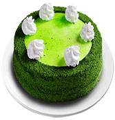 Green Velvet Cake delivery in Nagpur