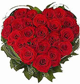 20 Red Roses Heart Shape Arrangement Online delivery in Nagpur - Shopnideas
