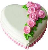 Heart Shape Pineapple Cake Online delivery in Nagpur - Shopnideas