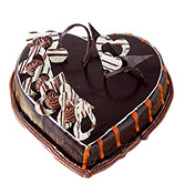 Heart Shape Truffle Cake Online delivery in Nagpur - Shopnideas