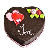 Heart Shaped Chocolate Truffle Online delivery in Rajkot - Shopnideas
