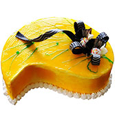 Mango Shape Cake Online delivery in Nagpur - Shopnideas