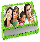Personalized photo cake