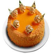 Orange Velvet Cake delivery in Nagpur
