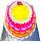 Pineapple And Strawberry Cake Online delivery in Rajkot - Shopnideas