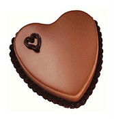 Heart Shaped Chocolate Cake Online delivery in Rajkot - Shopnideas