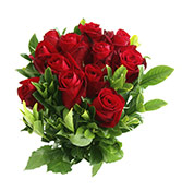 12 Red Rose Bunch Online delivery in Surat - Shopnideas