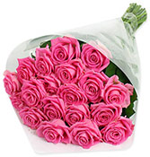 18 Royal Pink Bouquet Online delivery in Surat - Shopnideas