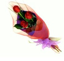 Special Bunch 3 Roses Online delivery in Nagpur - Shopnideas