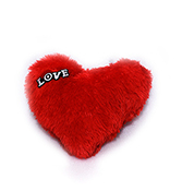 Soft Red Heart Online delivery in Nagpur - Shopnideas