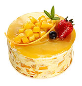 Royal Mango Cake