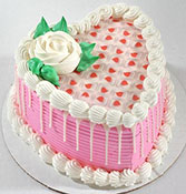 Special One Heart Shape Cake Online delivery in Wardha - Shopnideas