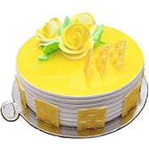 Yummy Pineapple Cake Online delivery in Nagpur - Shopnideas